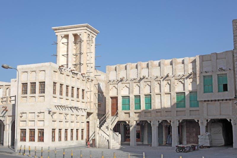 Souq w Doha Waqif. Katar obrazy royalty free