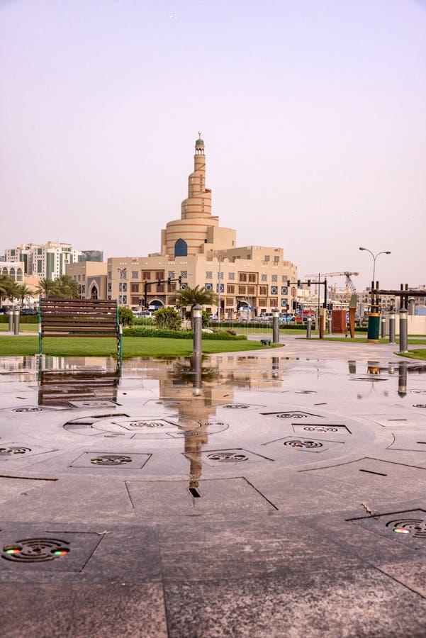 Souqwaif Doha stock foto