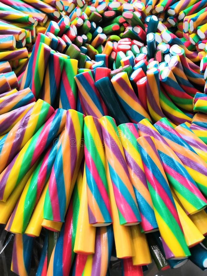 Sour candy strips
