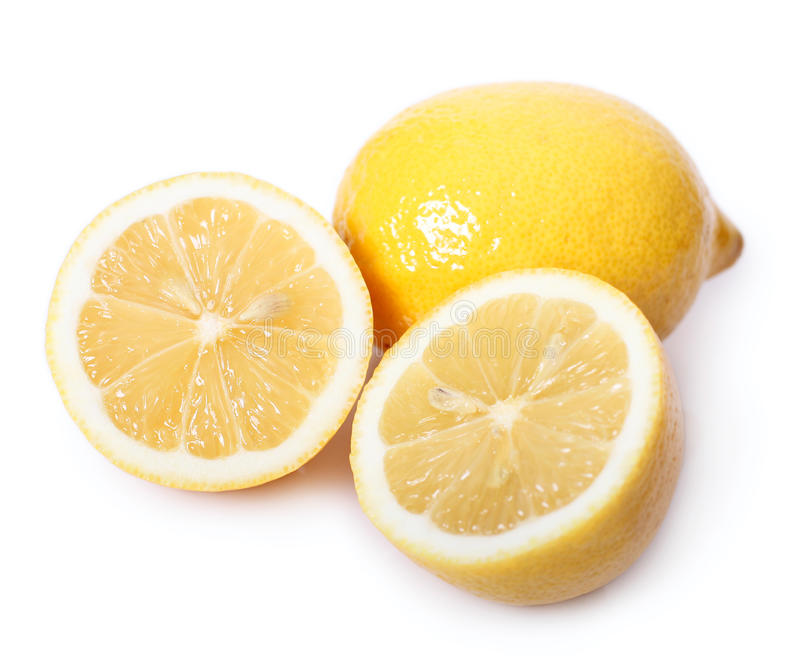 Sour lemon stock photos