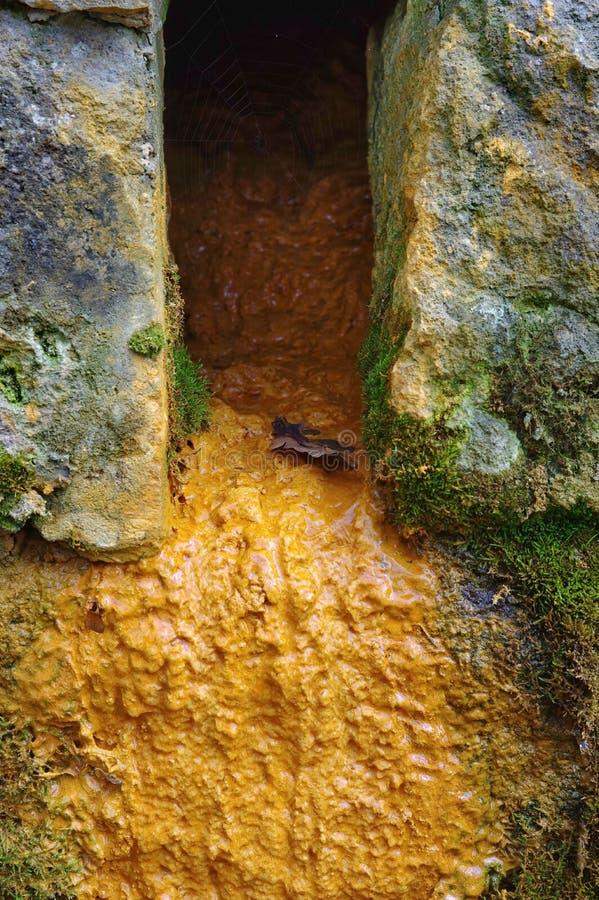 Source d'eau de source photo stock