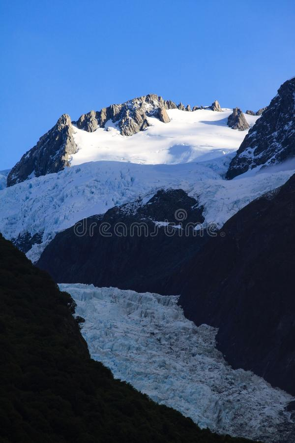 Source de glacier images libres de droits