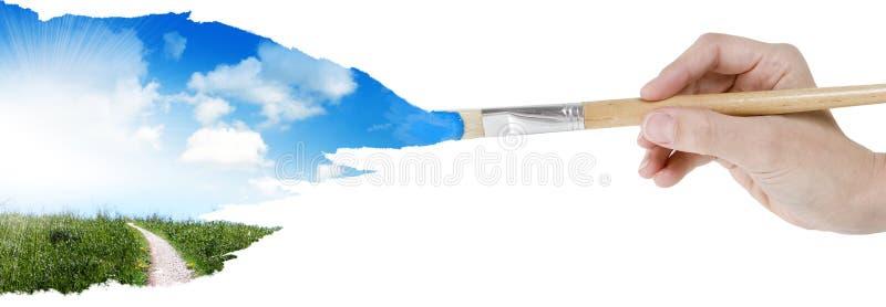 Source de peinture illustration de vecteur