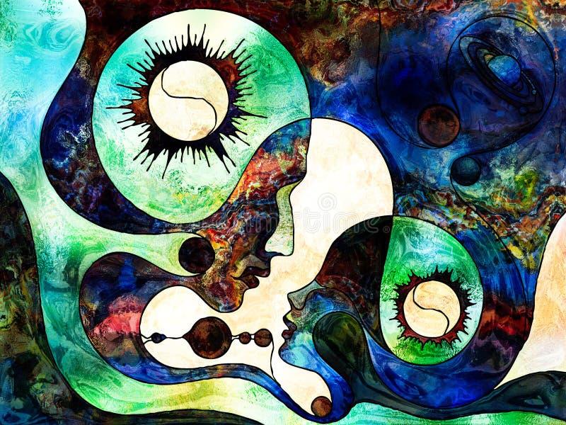 Source intérieure illustration libre de droits