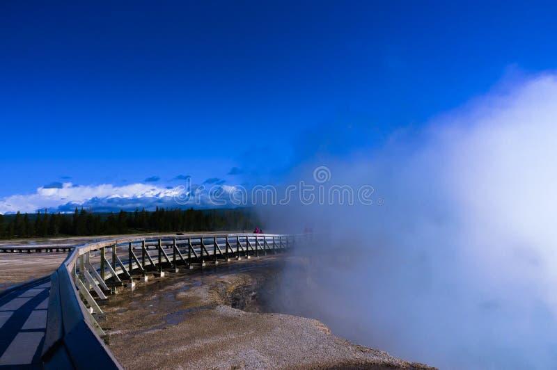 Source thermale de Yellowstone photographie stock libre de droits