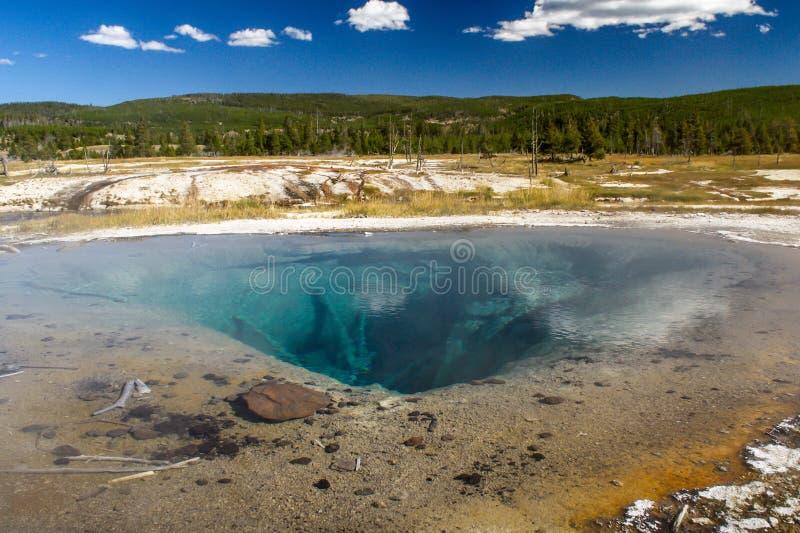 Source thermale en parc national de Yellowstone photos libres de droits
