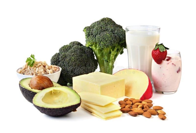 Sources de calcium photographie stock libre de droits