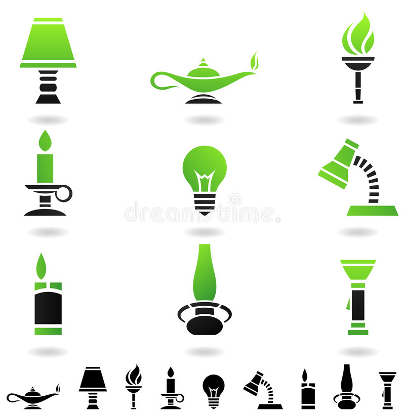 Free Sources Of Light Stock Images - 7658484