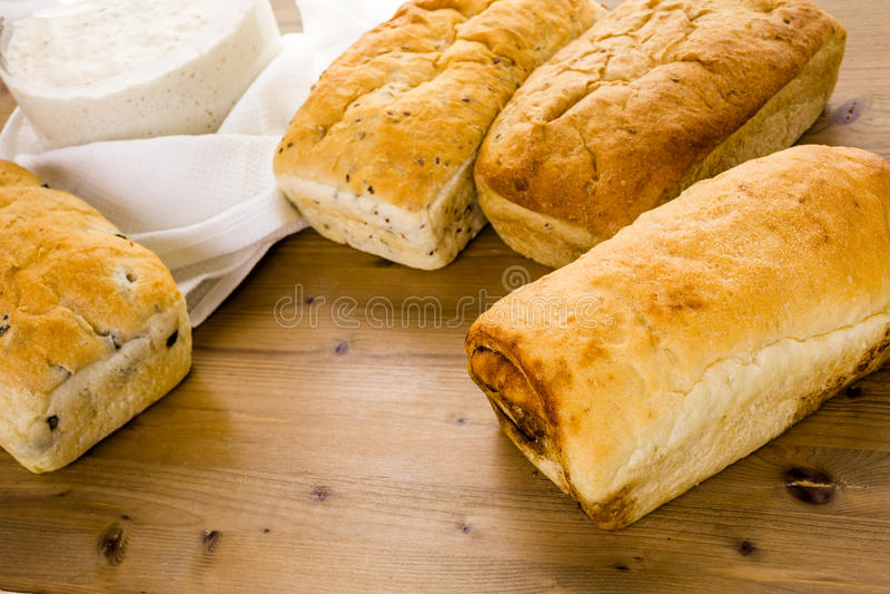 sourdough панорамы хлеба немецкий стоковое фото
