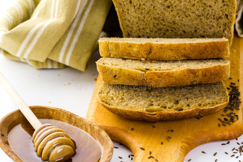 sourdough панорамы хлеба немецкий стоковые изображения