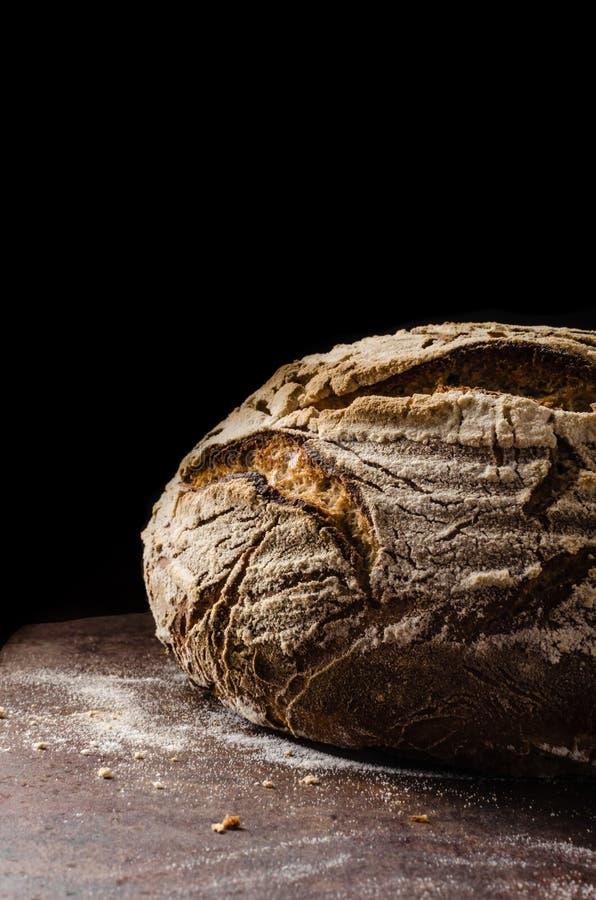 Sourdough för hemlagat bröd arkivfoton