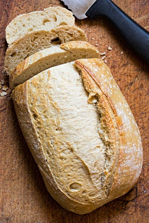 Sourdough släntrar av bröd arkivbild