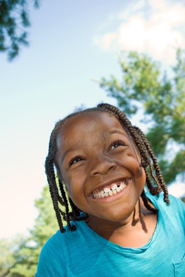 Sourire énorme ! image libre de droits