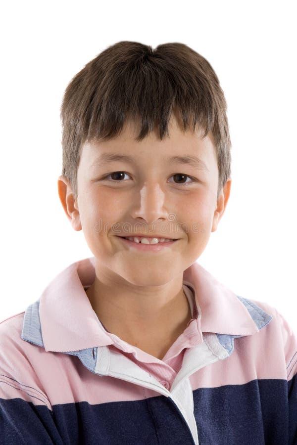 Sourire adorable d'enfant photo libre de droits