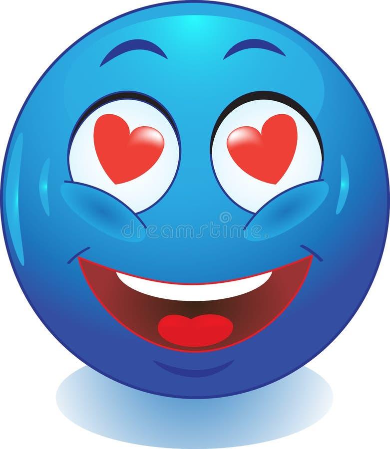 Sourire. Amour. illustration libre de droits