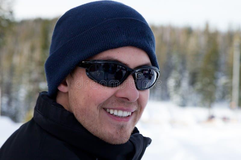 Sourire d'hiver images libres de droits