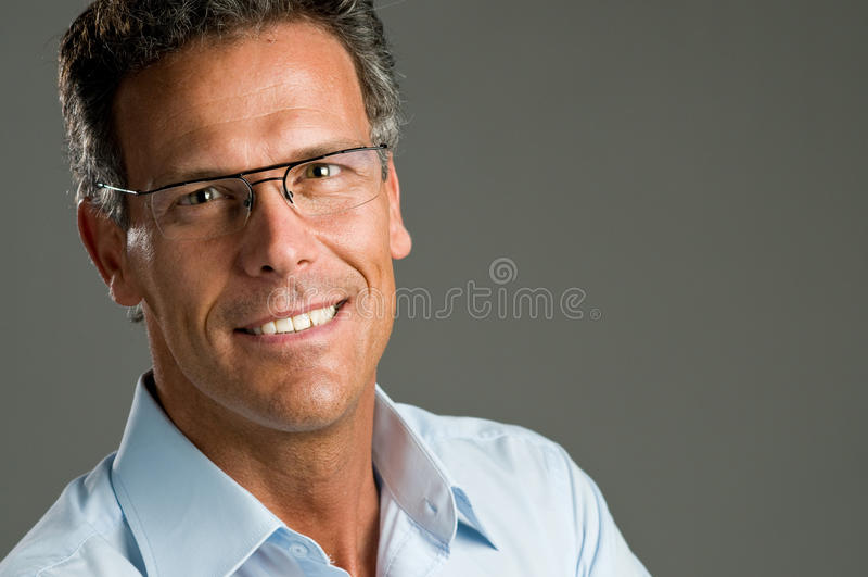 sourire d'homme images stock