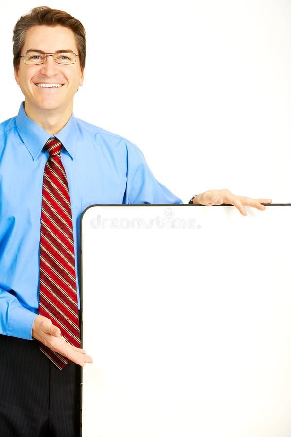 sourire d'homme d'affaires photos stock