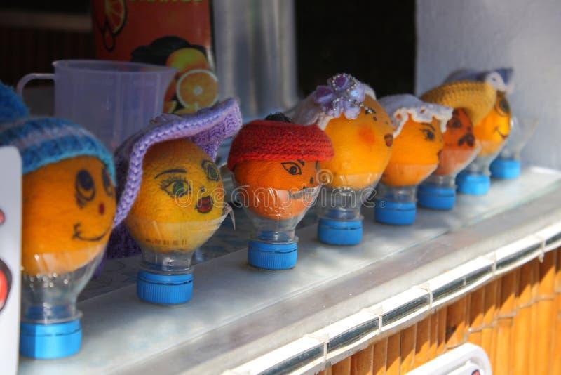 Sourire d'oranges, humeur photos stock