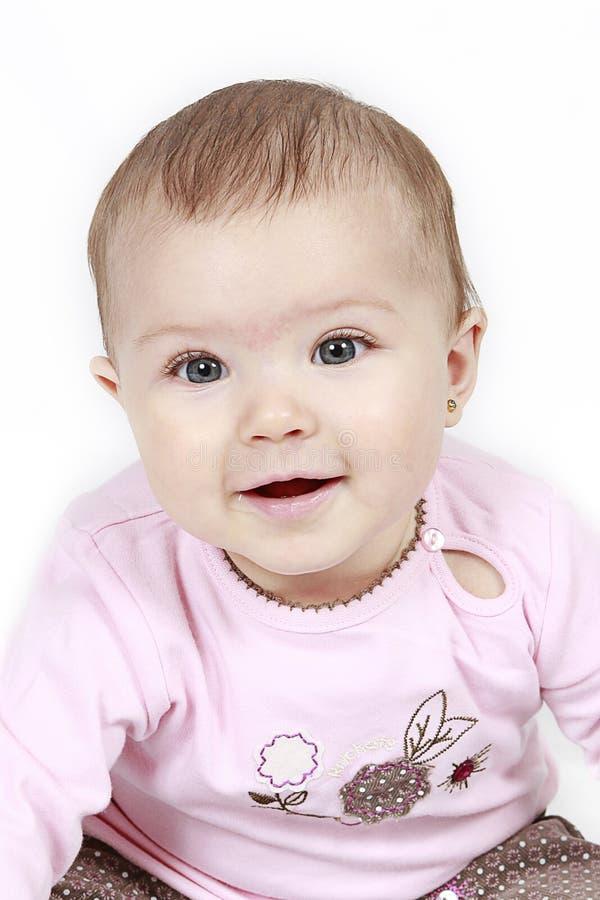 sourire de bébé image stock
