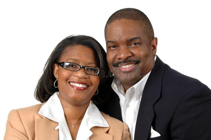 Sourire de couples image libre de droits