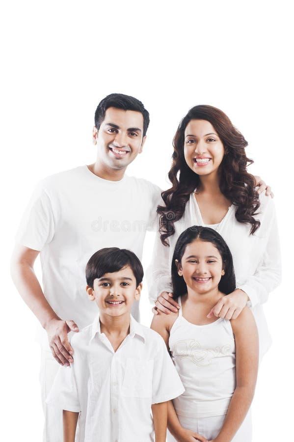 Sourire de famille photo libre de droits