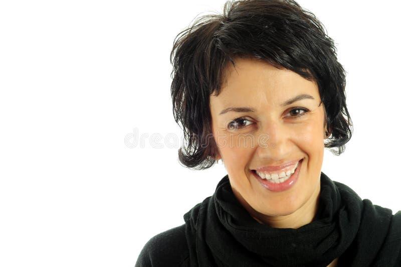 Sourire de femme photo libre de droits