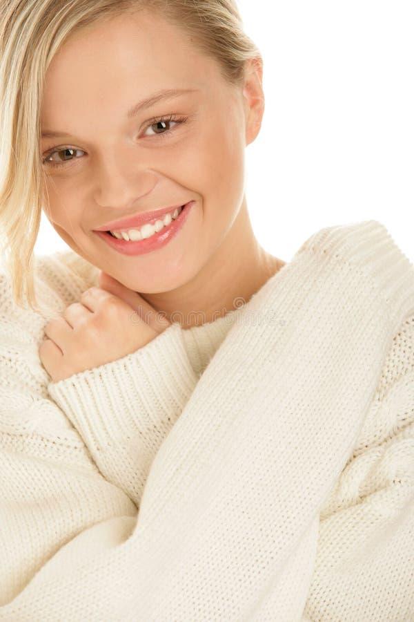 Sourire de femme de beauté image stock