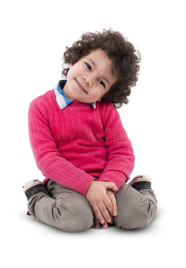 Sourire de garçon photos libres de droits