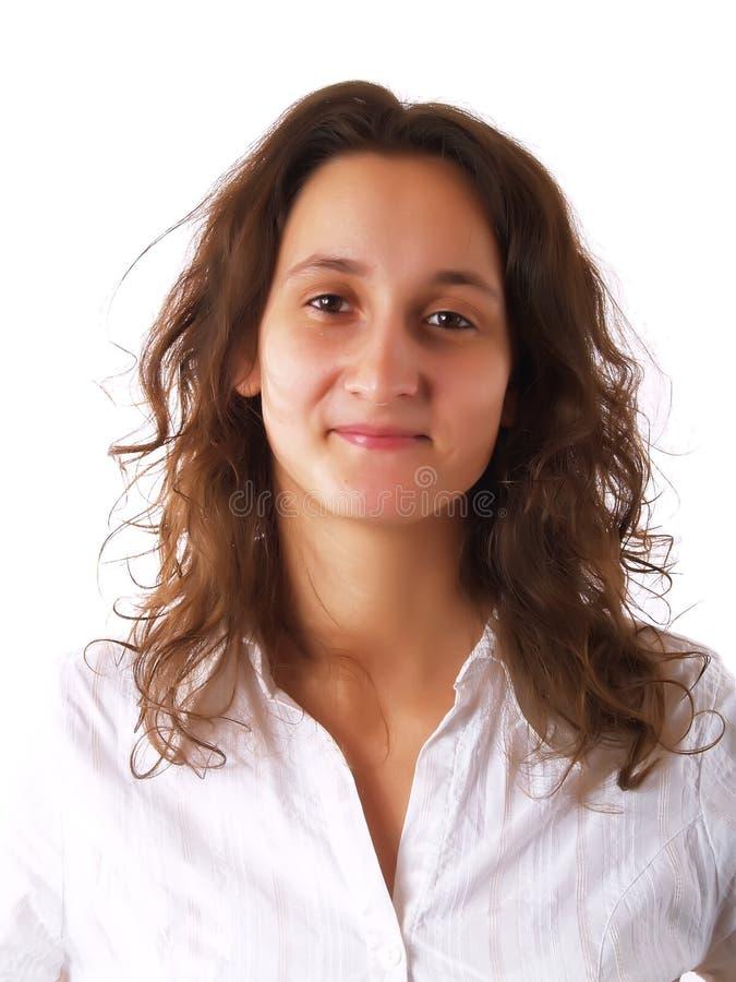 Sourire de jeune femme photos libres de droits