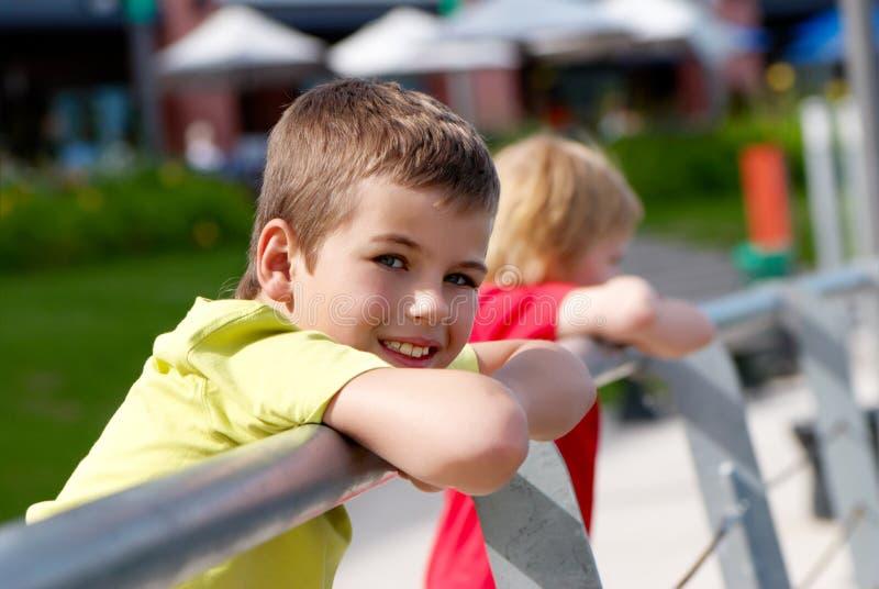 Sourire de Little Boy images stock