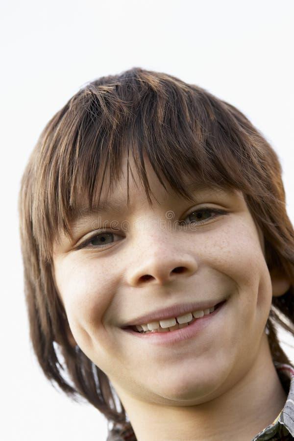 sourire de verticale de garçon photos libres de droits