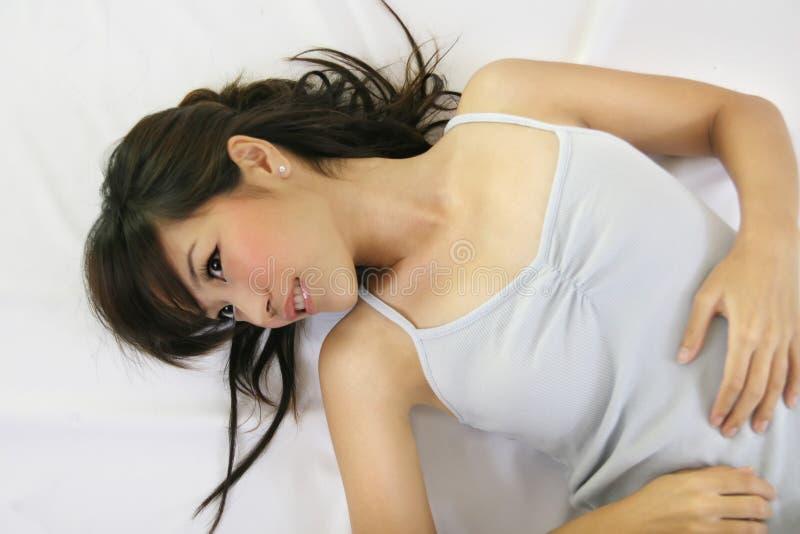 Sourire femelle photo libre de droits