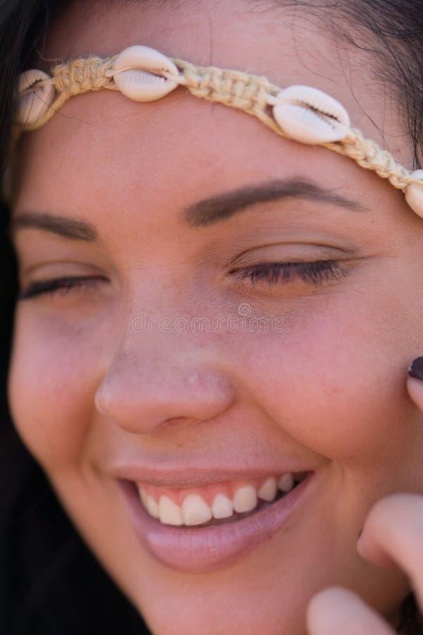 Sourire gentil photos stock