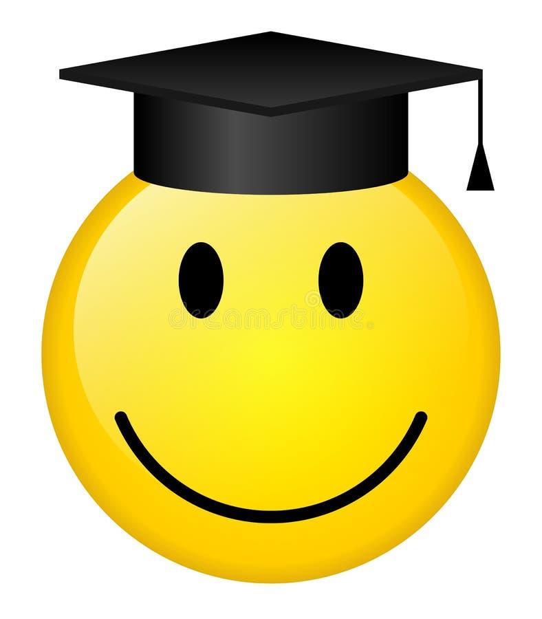 Sourire gradué illustration stock