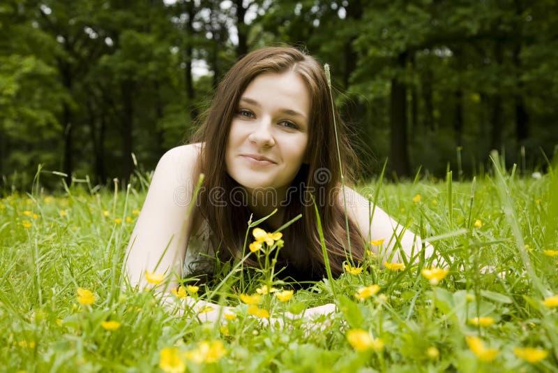 Sourire heureux photos stock