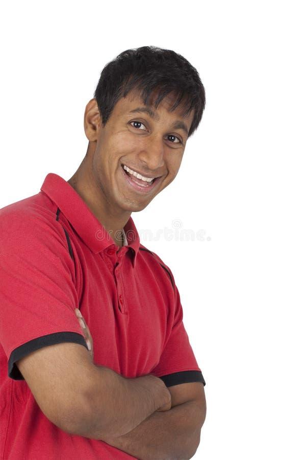 sourire indien d'homme d'affaires photographie stock