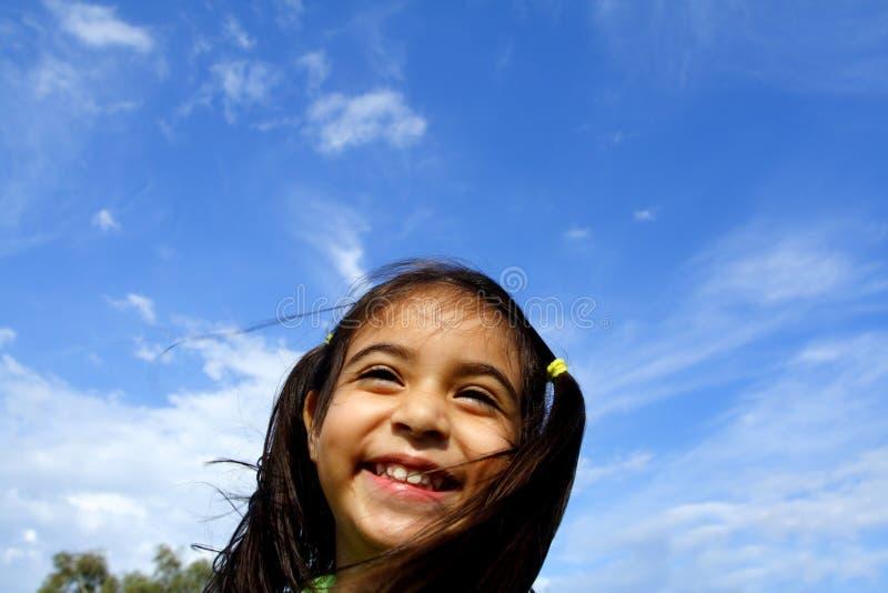 Sourire mignon images libres de droits