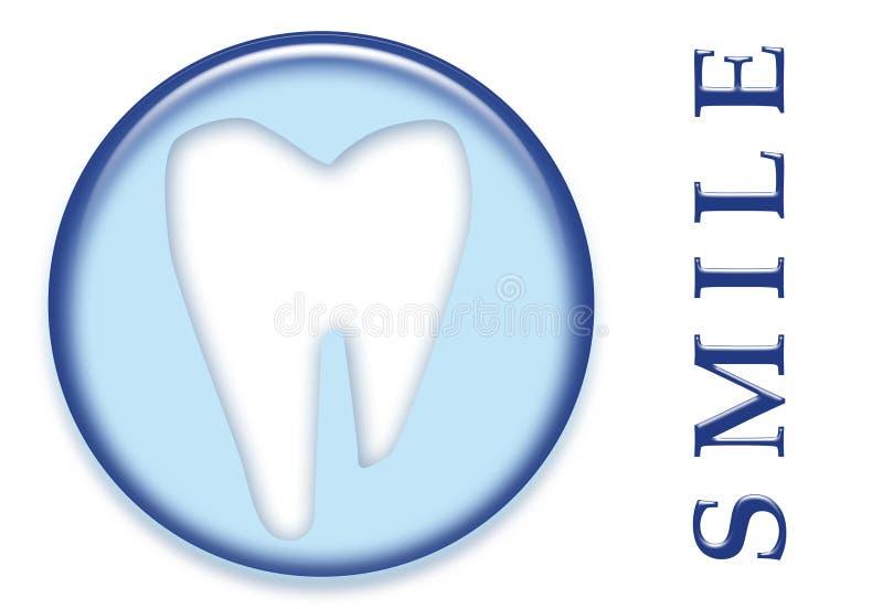 Sourire molaire dentaire de dent illustration stock