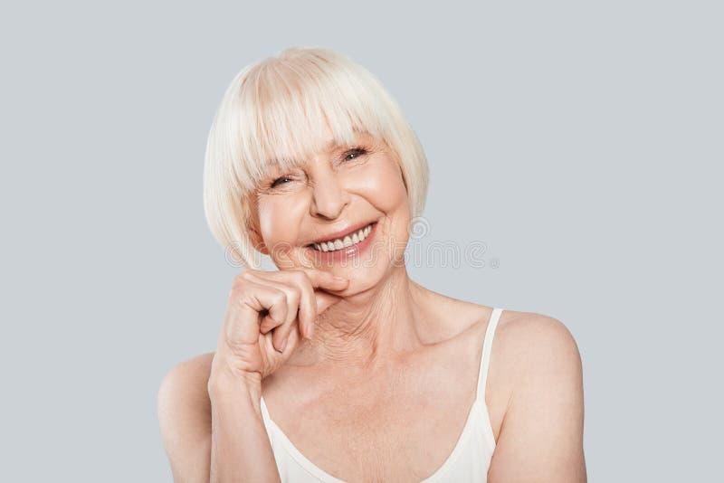 Sourire sincère photo stock
