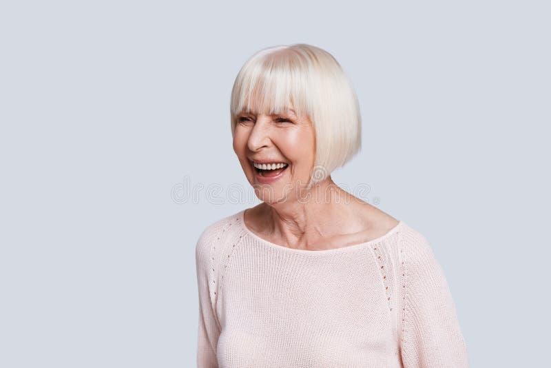 Sourire sincère photos libres de droits