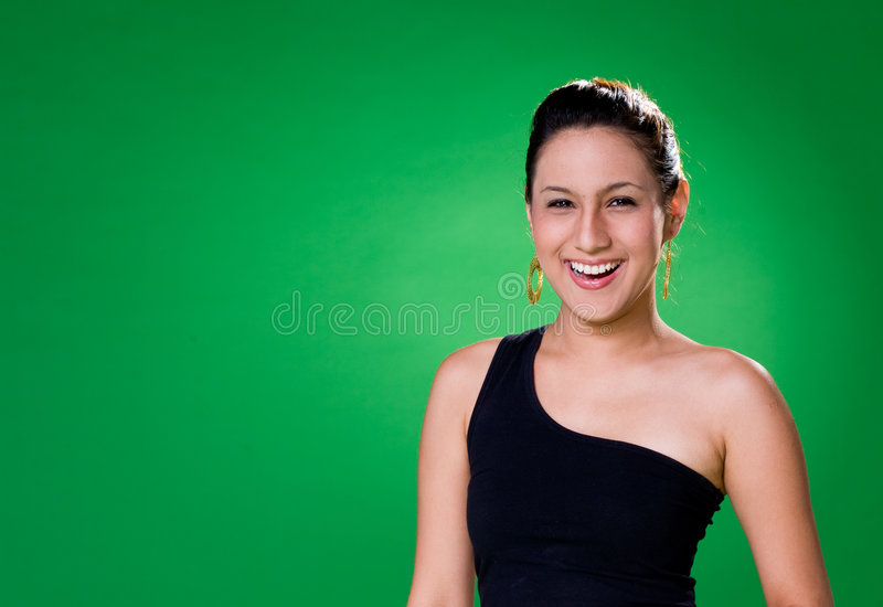 Sourire Toothy Image stock