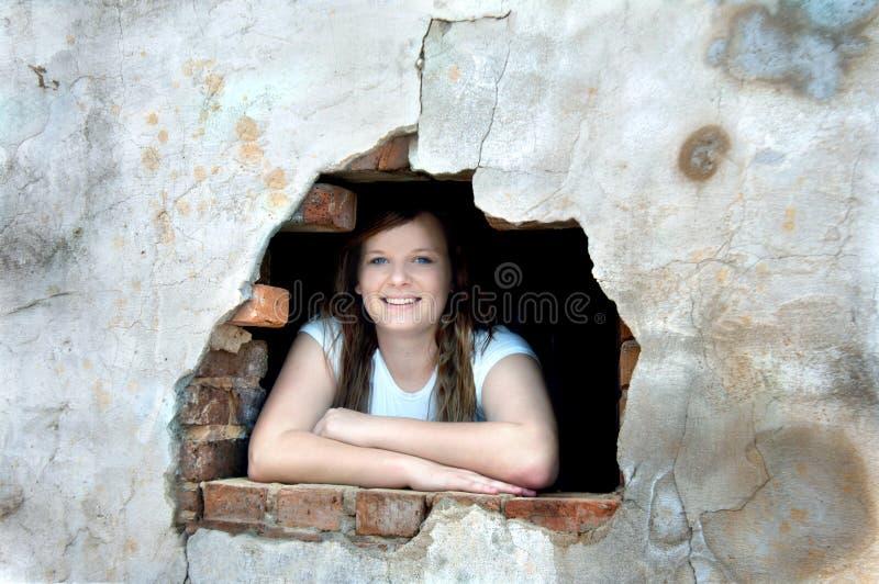 Sourire toujours jeune photo libre de droits