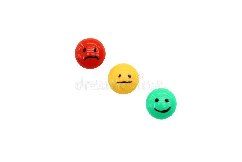 sourires d'émotions image stock