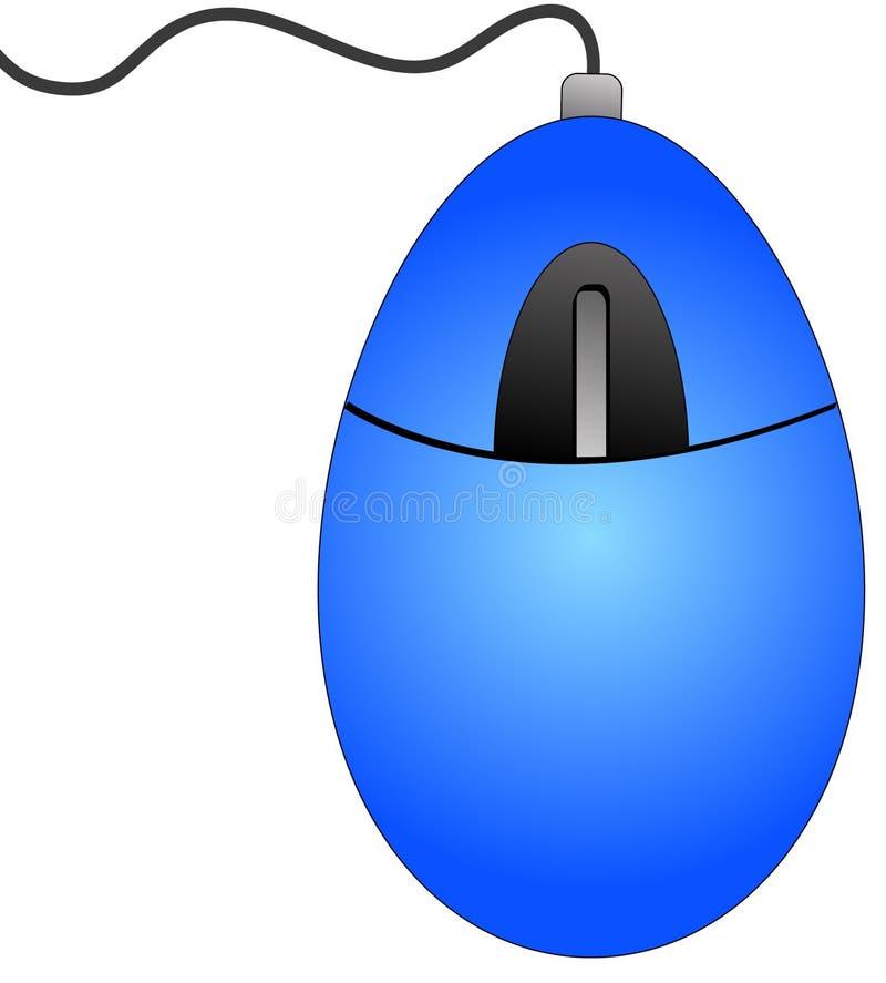 Souris d'ordinateur illustration de vecteur