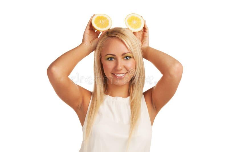 Souris de citron photographie stock libre de droits