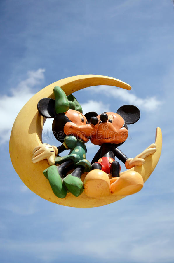 Souris de Mickey et de Minnie photos libres de droits