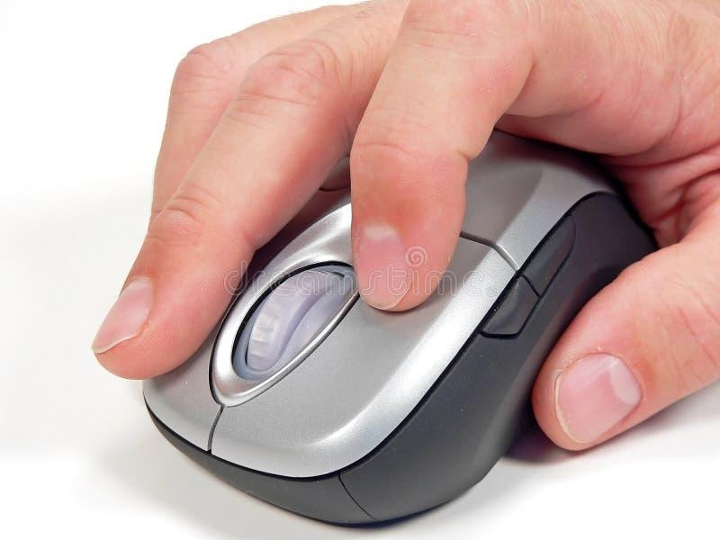 Souris sans fil d'ordinateur image libre de droits