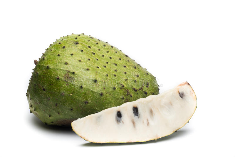 Soursop, Prickly Custard Apple. Annona muricata L. royalty free stock photography