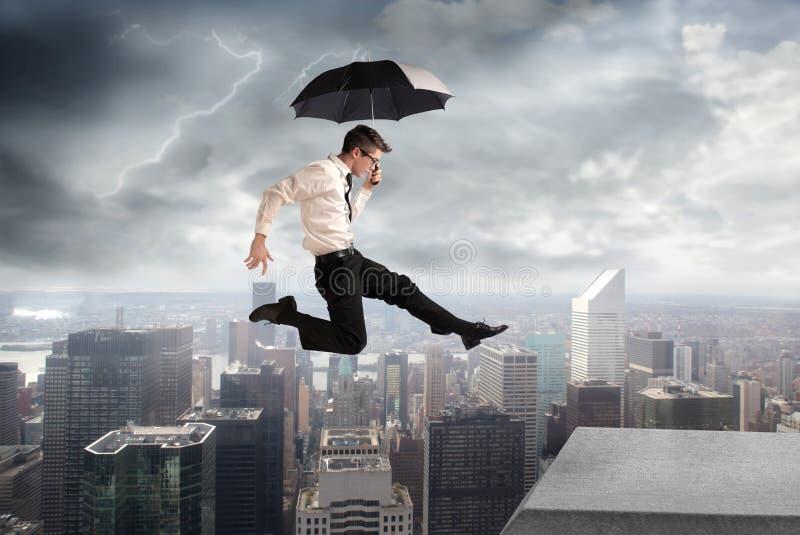 Sous la tempête photographie stock